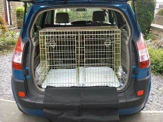 Empty Car Crate